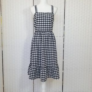 Loft Checkered Dress